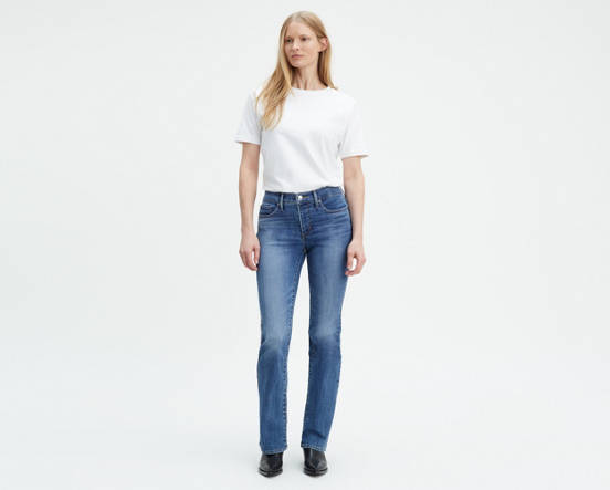 548c23be Use + and - keys to zoom in and out, arrow keys move the zoomed portion of  the image. Mouse over image for a closer look. 315 Shaping Boot Cut Jeans  ...