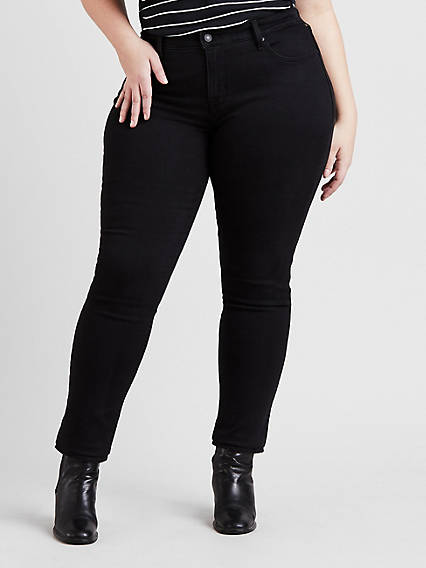 275647764f6 Women s Black Skinny Jeans Plus Size