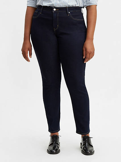 e130f77ea39 311 Shaping Skinny Jeans (Plus Size). QUICK VIEW. Darkest Sky  Darkest Sky  ...