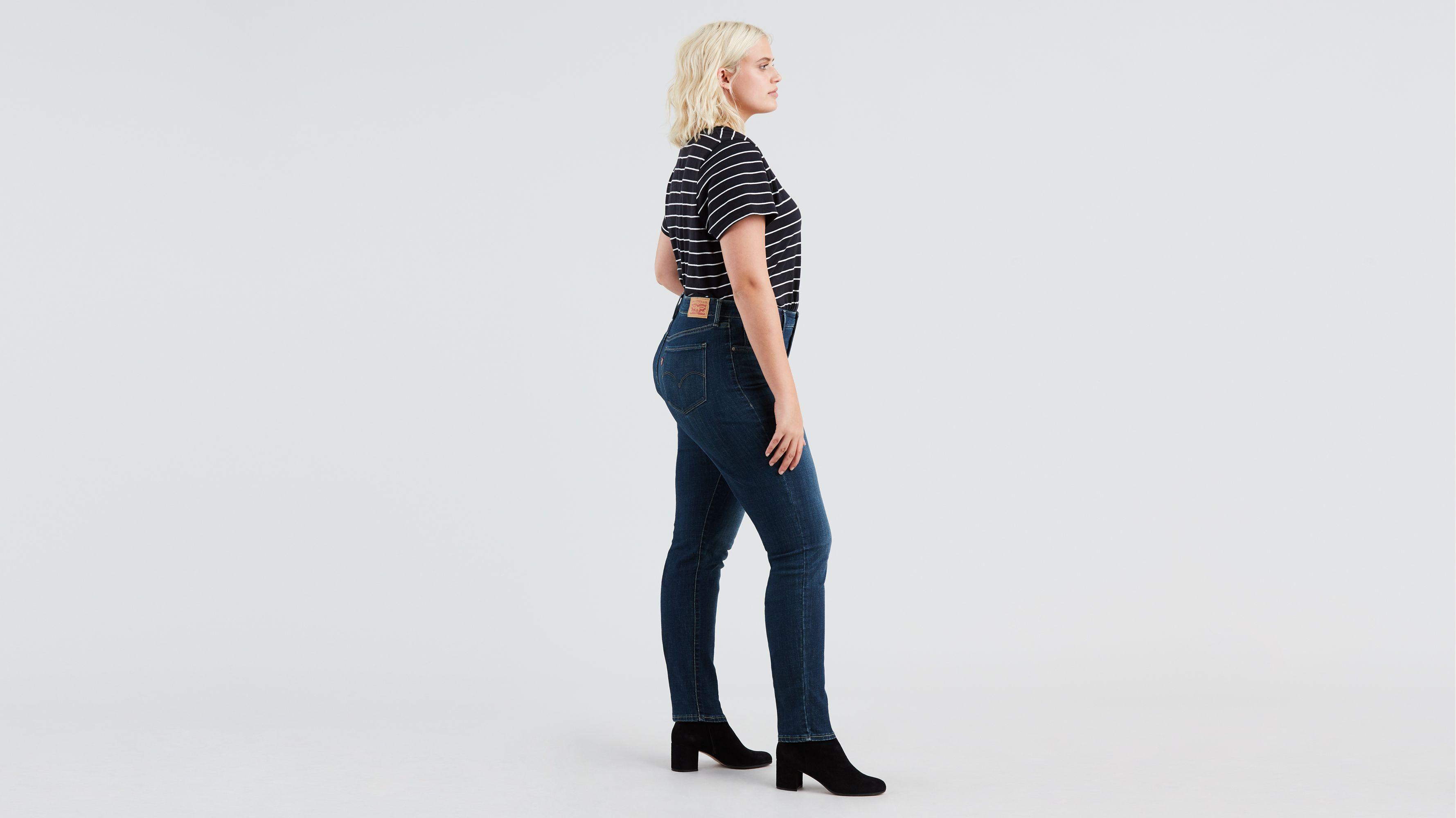 311 Shaping Skinny Women's Jeans (plus Size) Dark Wash
