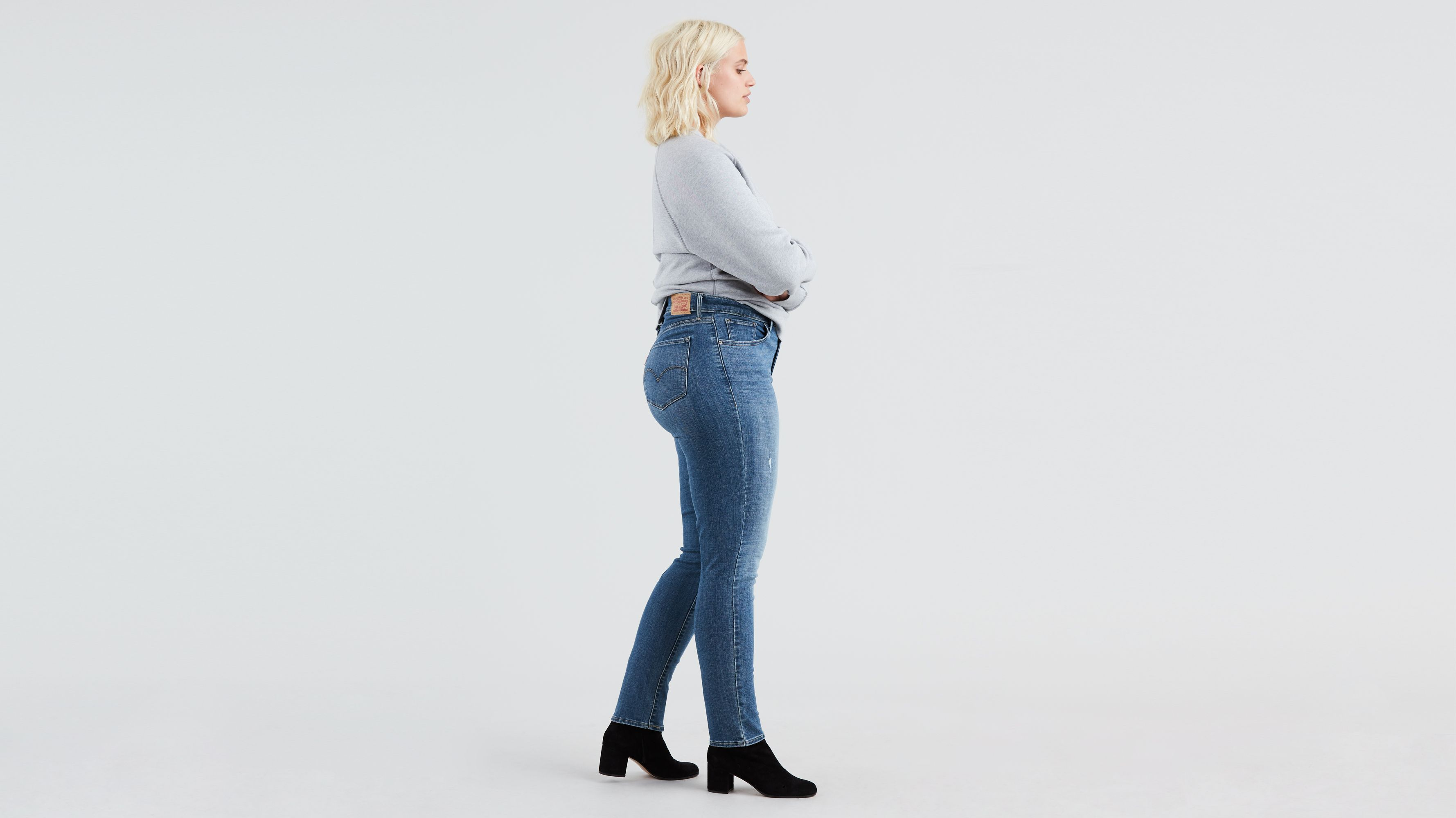 7437295b56a2bd 311 Shaping Skinny Jeans (plus Size) - Medium Wash | Levi's® US
