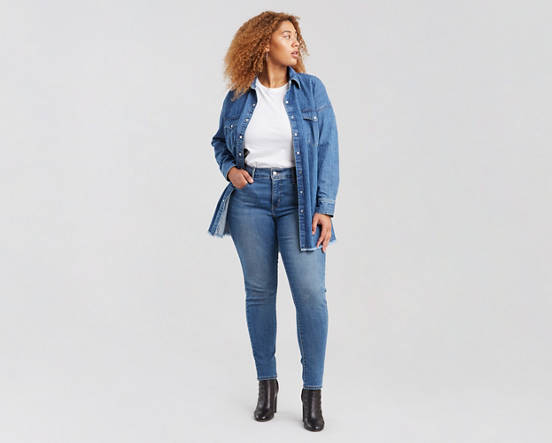 310 Shaping Super Skinny Jeans (Plus Size)