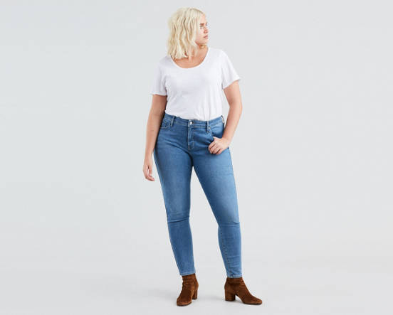 f912cc6c7de00 Use + and - keys to zoom in and out, arrow keys move the zoomed portion of  the image. Mouse over image for a closer look. 310™ Shaping Skinny Jeans ( Plus ...