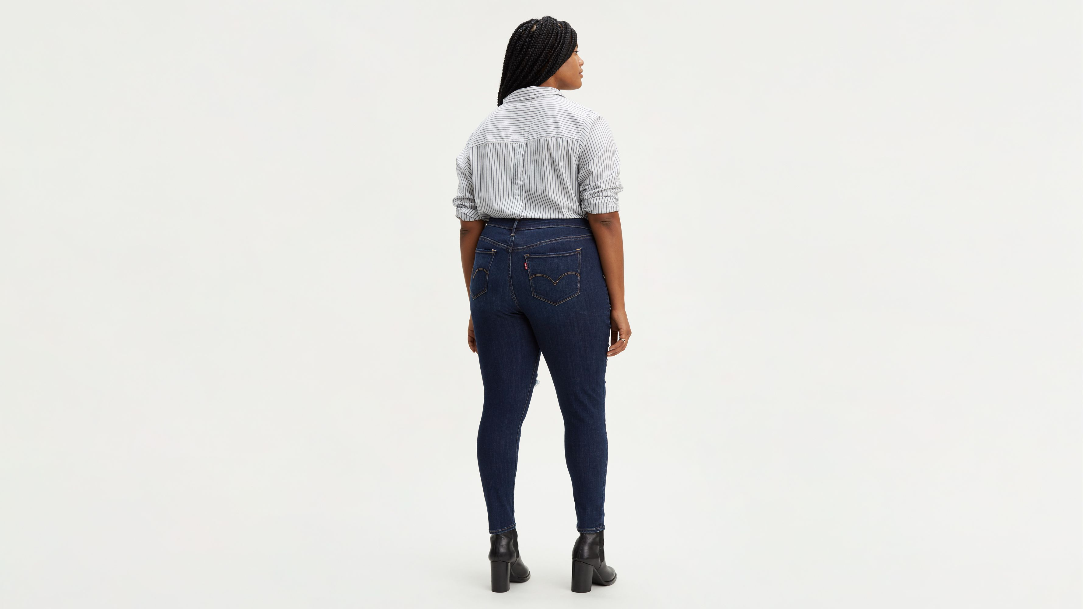 1526a93438c 310 Shaping Super Skinny Jeans (plus Size) - Dark Wash