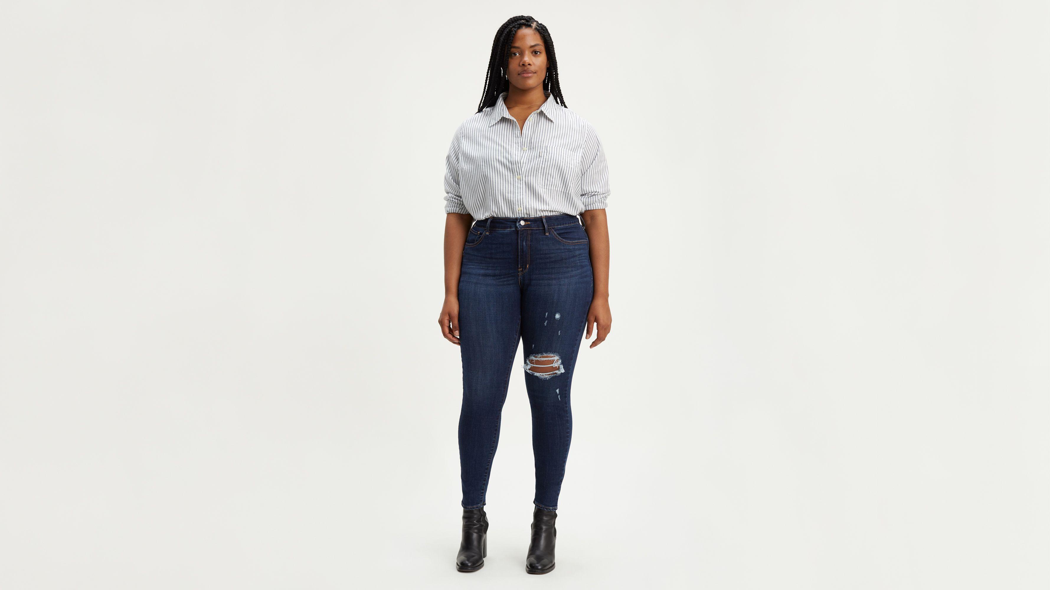 Skinny Size Shaping Jeansplus 310 Super DE2IY9HW