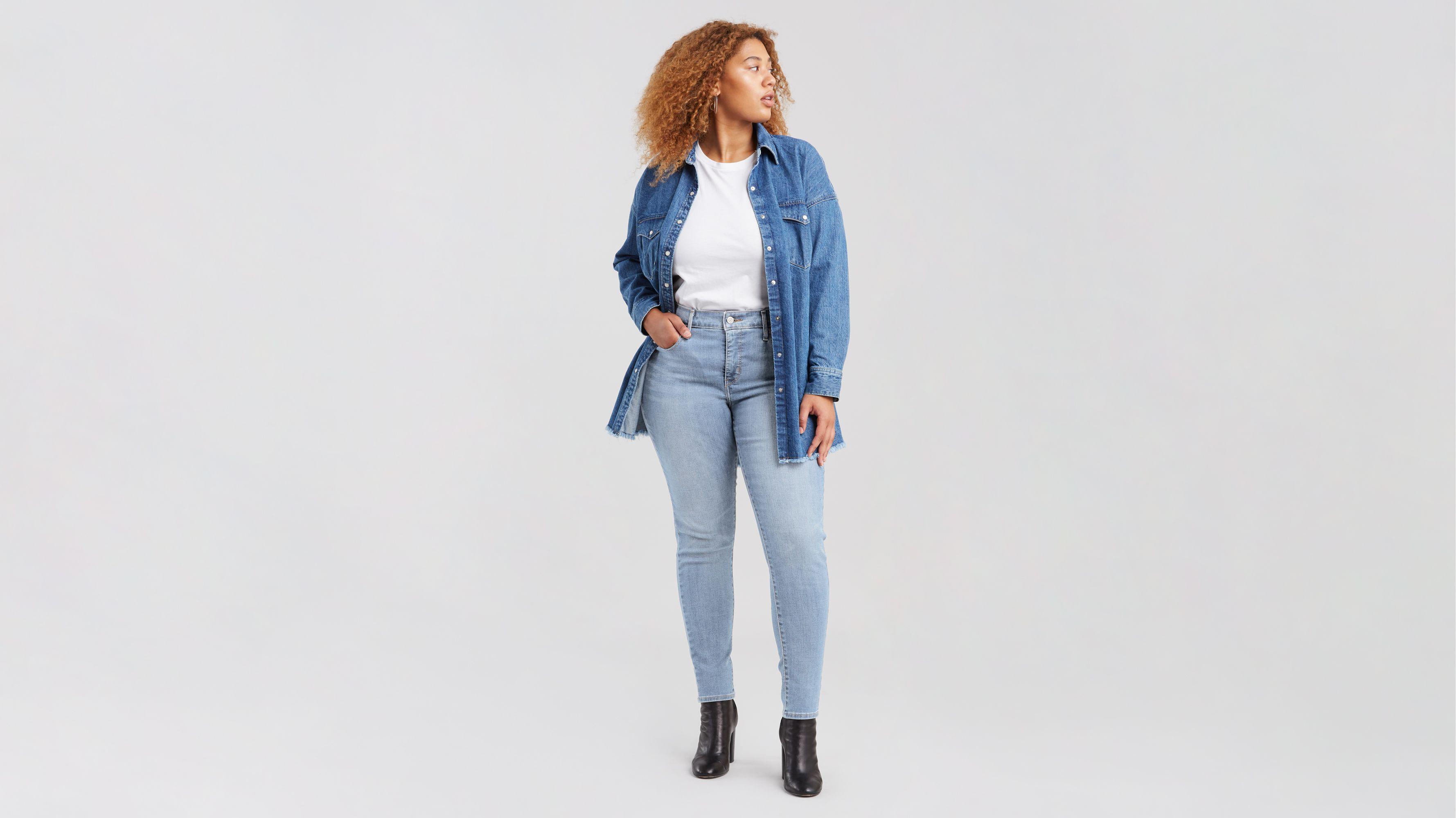3cc95f8389e9f 310™ Shaping Super Skinny Jeans (plus Size) - Light Blue | Levi's® GB