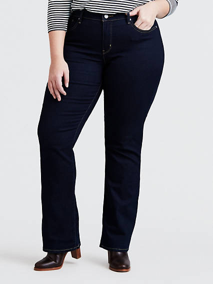 fc9df1a3aea 315 Shaping Boot Cut Jeans (Plus Size)