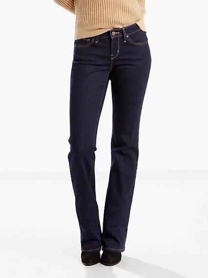 815 Curvy Boot Cut Jeans