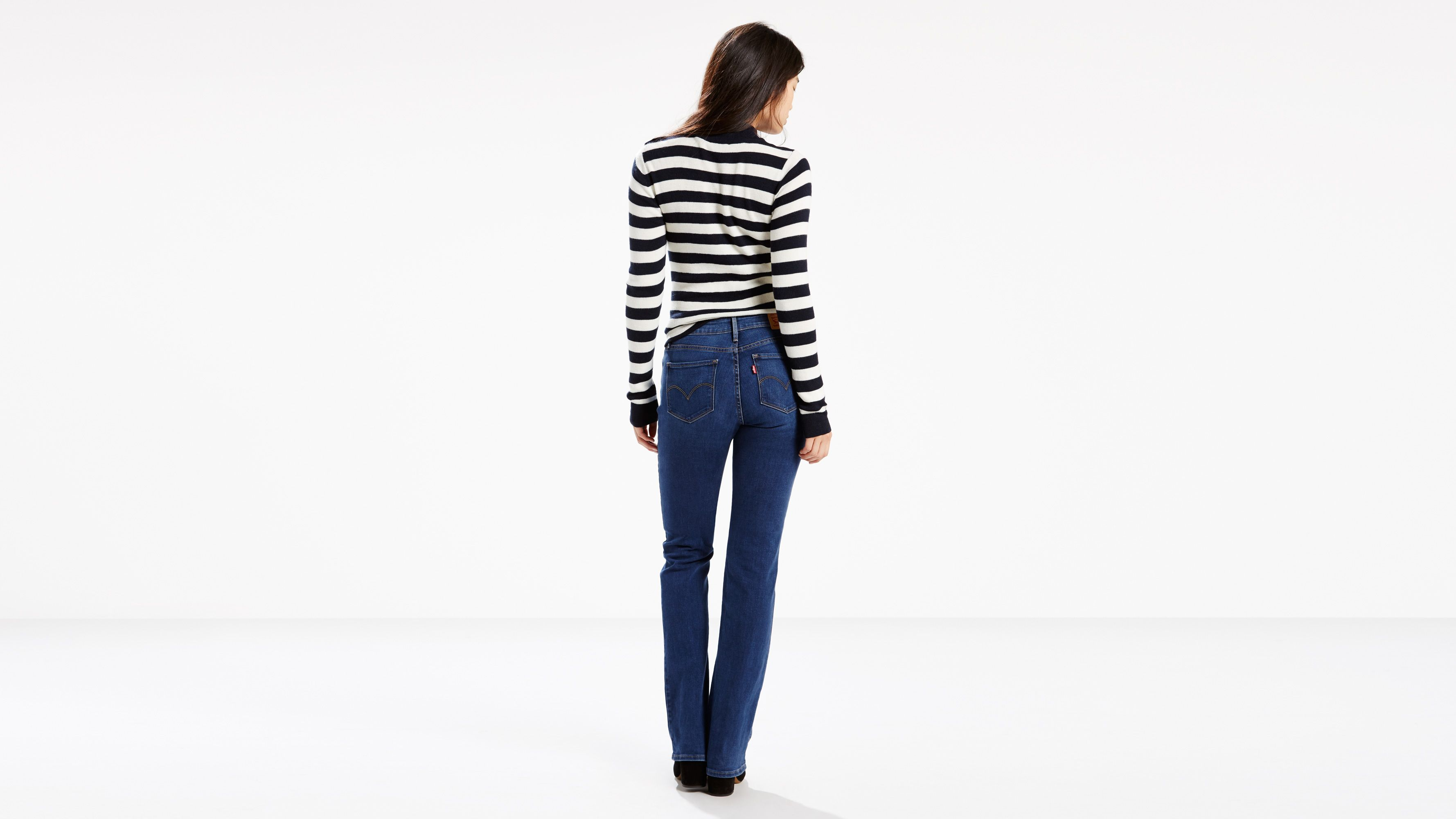 e627461d 815 Curvy Boot Cut Jeans - Dark Wash | Levi's® US