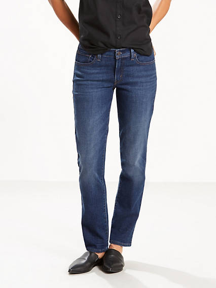 414 Classic Straight Jeans