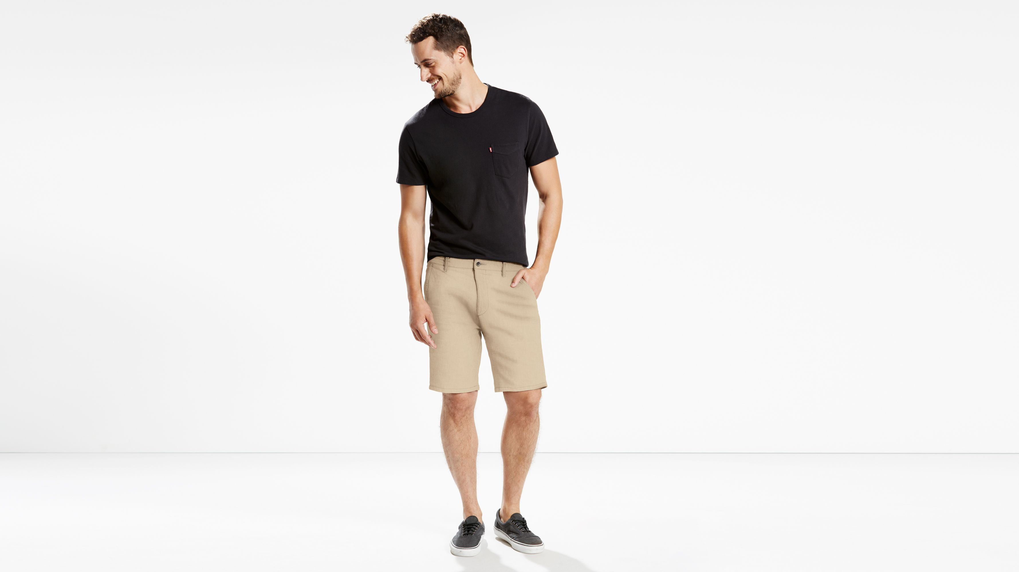 c58bda5e Straight Chino Shorts - Khaki | Levi's® CA