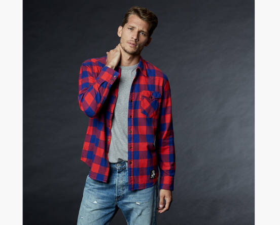 a413b803 Mouse over image for a closer look. Levi's® NFL Plaid Western Shirt ...
