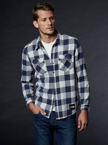 Levi's® NFL Plaid Western Shirt