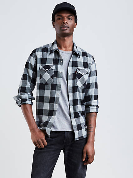 Levi's® NBA Plaid Western Shirt