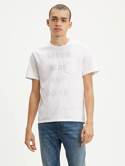 Levi's® WellThread™ x Outerknown Pocket Tee Shirt