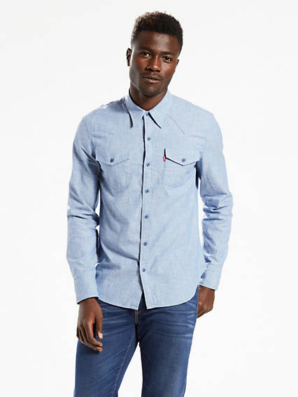 Long Sleeved Western Shirt