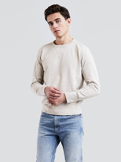 1930s Men's Clothing Levis Bay Meadows Sweatshirt - Mens M $99.98 AT vintagedancer.com