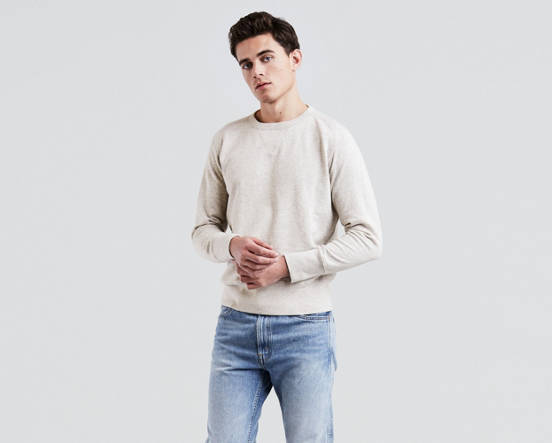 f480b8ab Levi's® Vintage Clothing Bay Meadows Sweatshirt - Beige | Levi's® GB