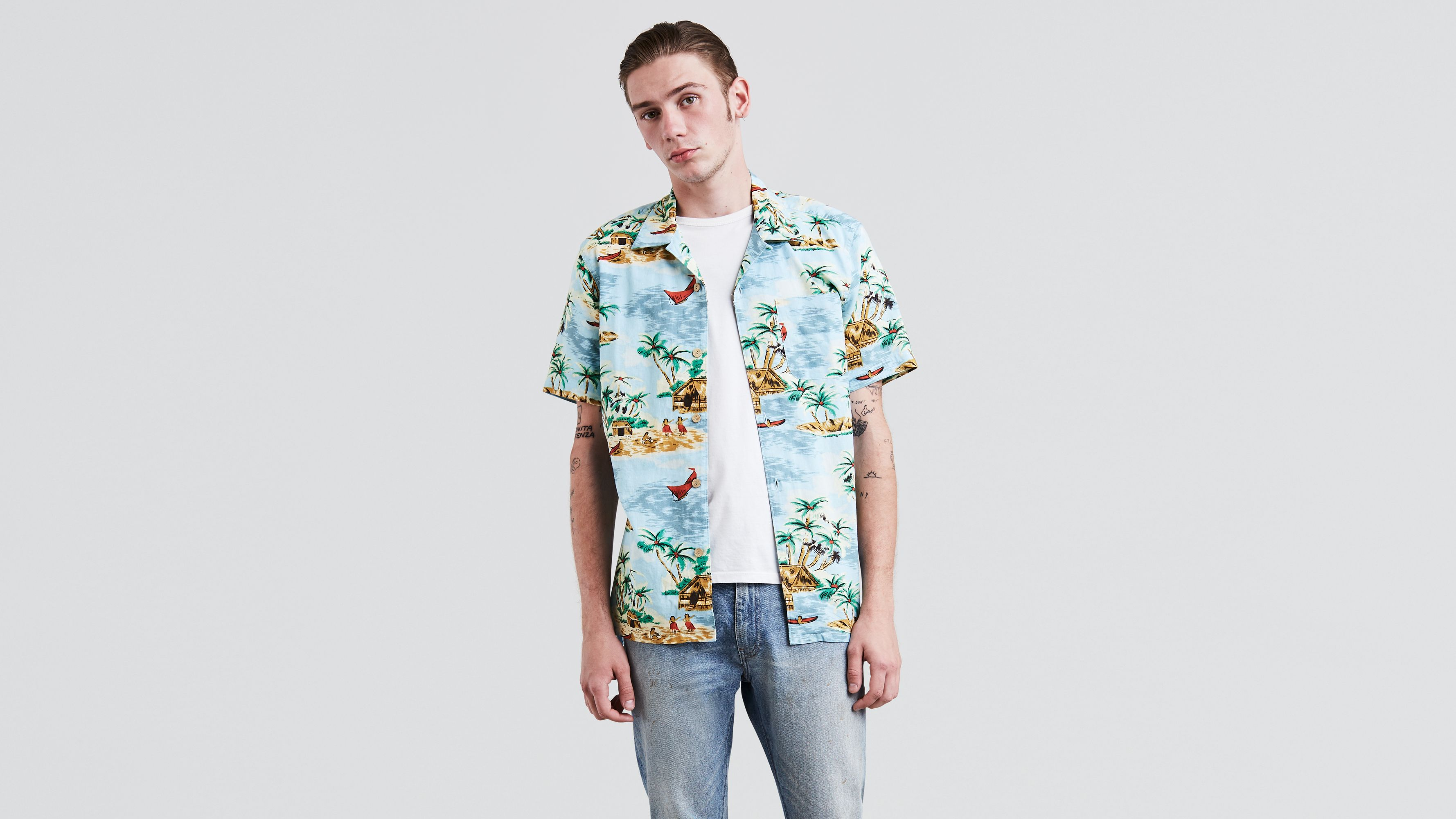 31486a63b Short Sleeve Hawaiian Shirt - Multi-color | Levi's® US