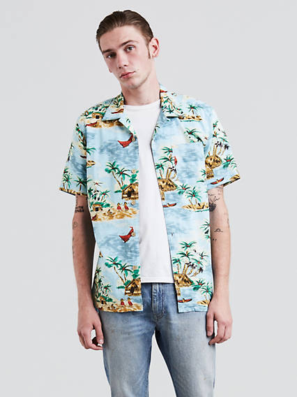 Short Sleeve Hawaiian Shirt