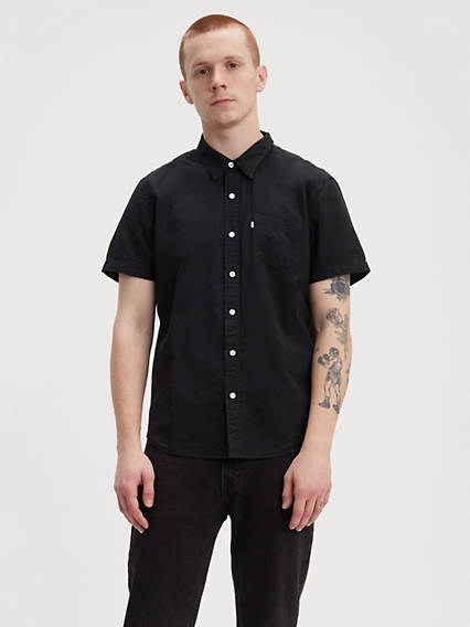 992c7d5816 Short Sleeve Classic One Pocket Shirt