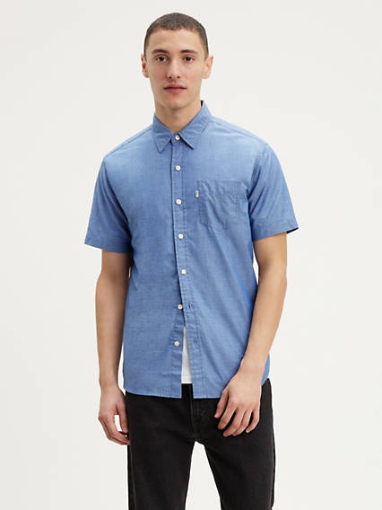 Short Sleeve Classic One Pocket Shirt