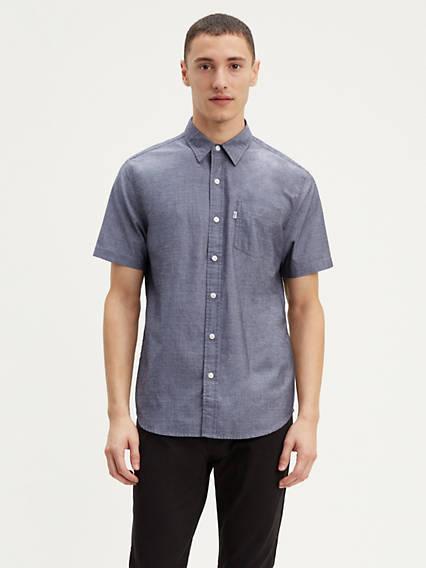 17223fc70bc74 Short Sleeve Classic One Pocket Shirt