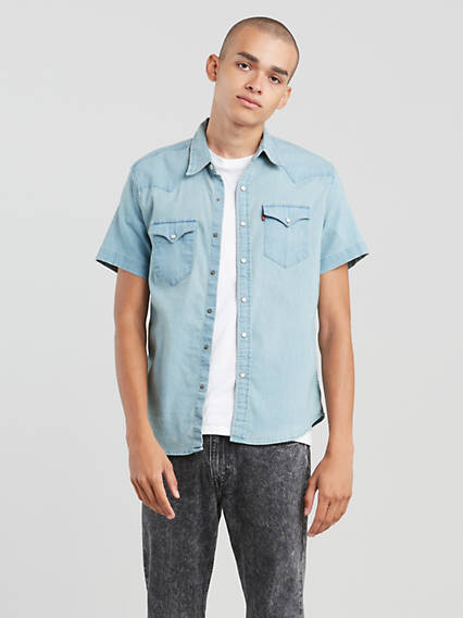 Short Sleeve Western Shirt