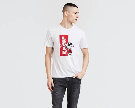 6173db3143a Levi s® X Peanuts Classic Graphic Tee Shirt - White
