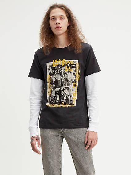3523f380 Men's Clothing Graphic Short Sleeve | Levi's® US