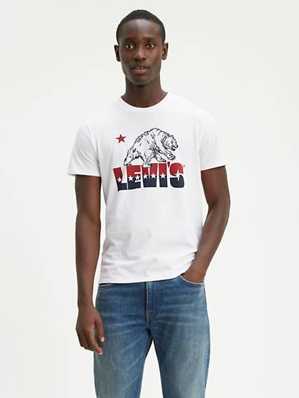 e9158274 Men's Graphic Short Sleeve Shirts | Levi's® US