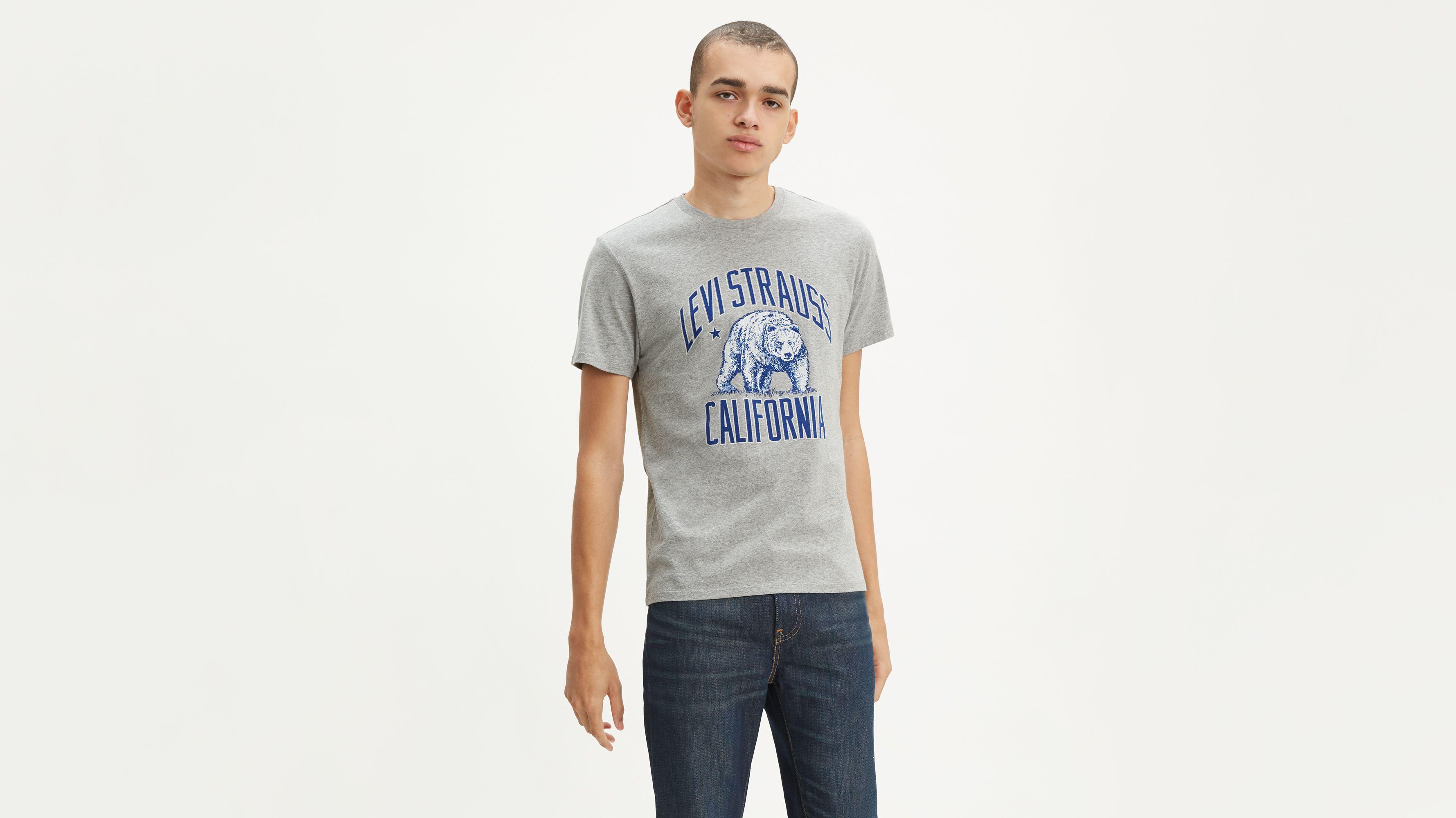 Cali Bear Graphic Tee Shirt