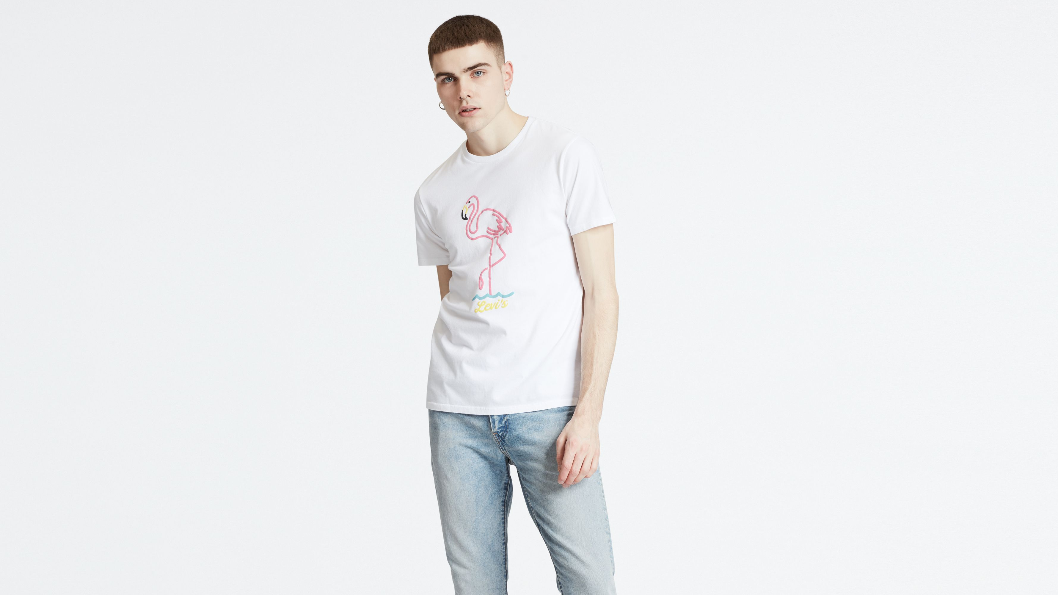 f7b502b95 Graphic Tee - White | Levi's® GB