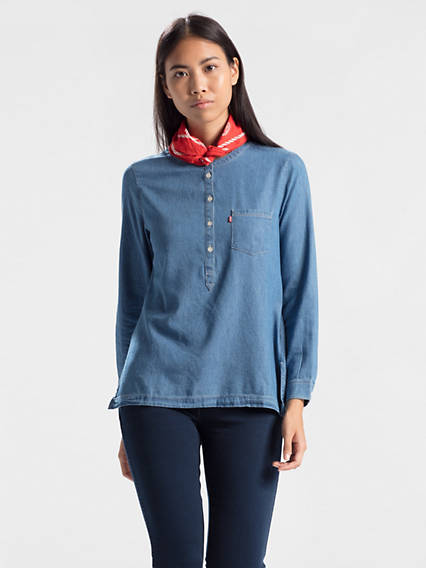 Modern Popover Shirt