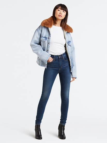 04ea1b6f648 Mile High Super Skinny Jeans - Lavado Medio | Levi's® ES