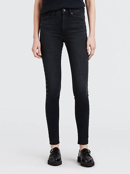 Mile High Super Skinny Studded Jeans
