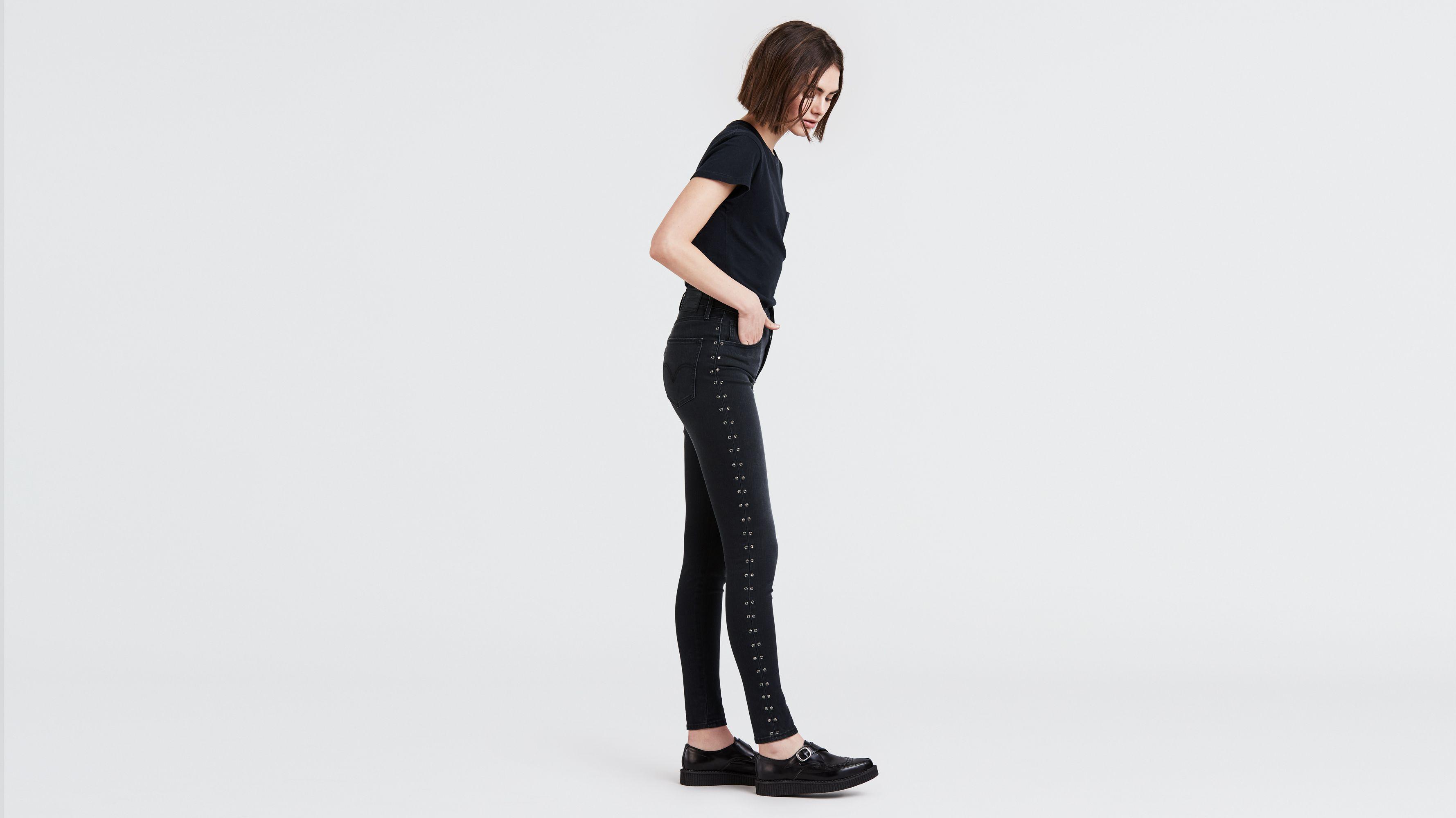 Mile High Super Skinny Studded Women's Jeans