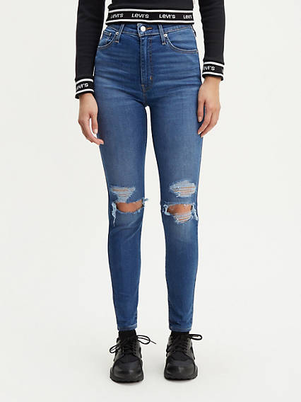 f6b99215024 Mile High Super Skinny - Ultra High Waisted Jeans | Levi's UK