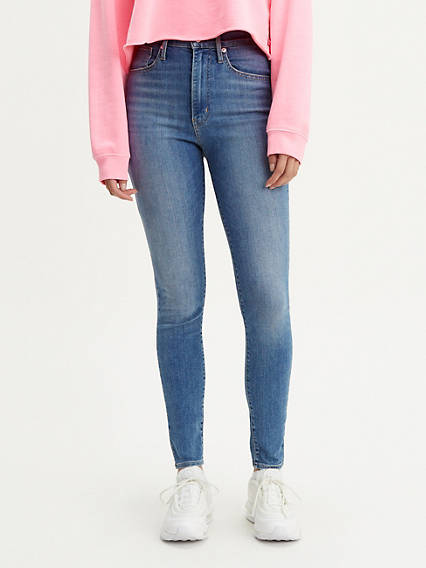 3132688d8f05 Mile High Super Skinny - Ultra High Waisted Jeans | Levi's UK