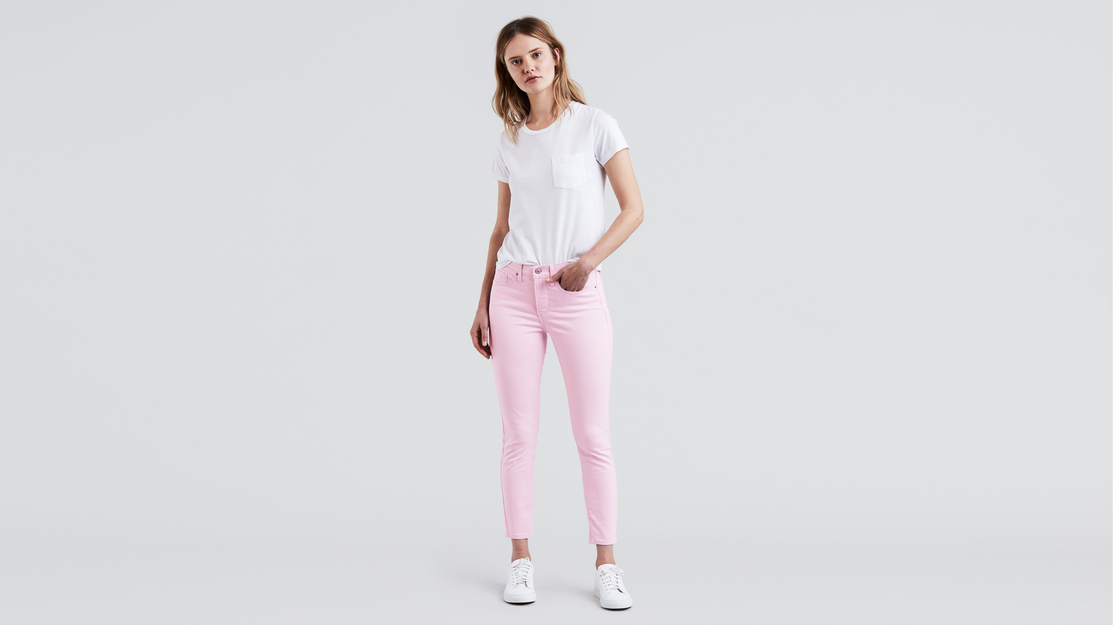 2e6366d3fc65 311 Shaping Skinny Ankle Jeans - Pink   Levi's® US