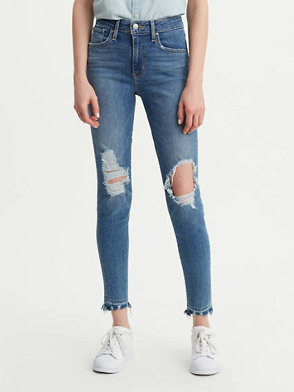 721 High Rise Ankle Skinny Jeans