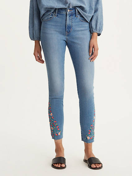 721 High Waisted Skinny Ankle Jeans
