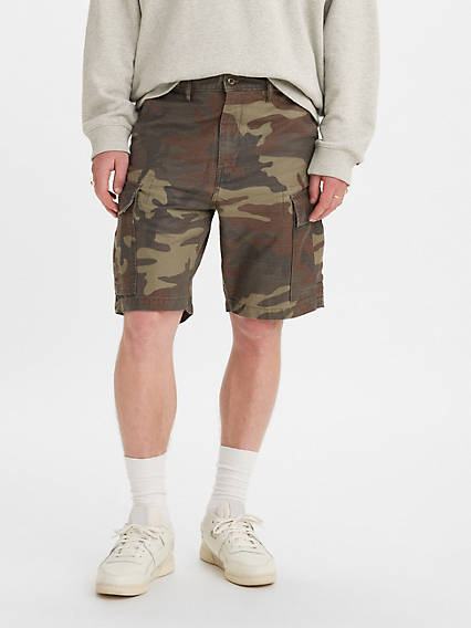 Carrier Cargo Camo 9.5 in. Mens Shorts