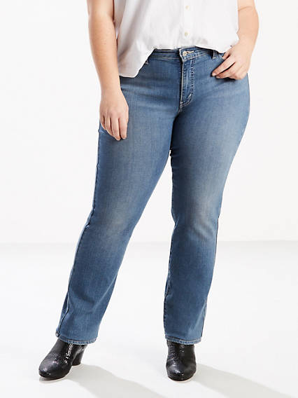 414 Classic Straight Jeans (Plus)