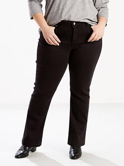 414 Classic Straight Jeans (Plus)