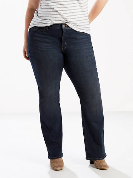 415 Classic Boot Cut Jeans (Plus)