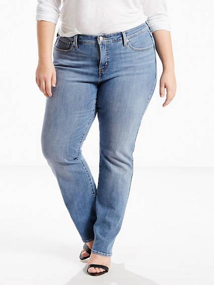 415 Classic Boot Cut Jeans (Plus)