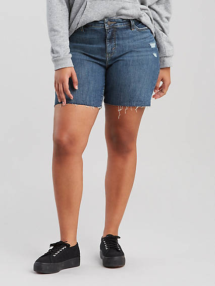 97adc72d Plus Size Denim Shorts & Capris | Levi's® US