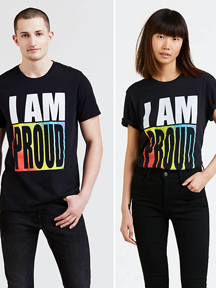 Pride Community Graphic Tee Shirt