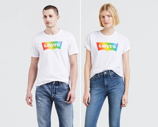 Levi's® Pride Logo Tee Shirt